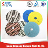 Resin Copper Bond Diamond Wet Polishing Pads/Stone Abrasive Pads