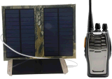 Solar Intercom Interphone Charger Fully Charged in 1-2 Hours