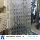 Float/Toughened Pattern Glass for Home Decoration with Ce Certification