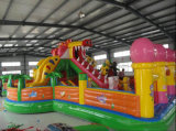 PVC/Oxford Inflatable Castle Bouncer Inflatable Combo