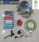 Super Pk80 Bike Engine Kit/80cc Gasoline Bicycle Engine Kit/40mm Stroke Bicycle Engine Kit