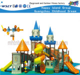 Castle Series Commercial Playground Equipment with Slide Hf-15701
