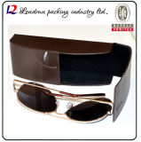 Leather Metal Sunglasses Case Glass Box Spectacle Case Optical Case Eyeglasses Case (Hx291)