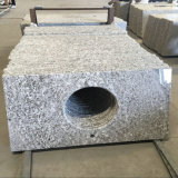 Brazil White Granite Bianco Antico Granite Bathroom Vanity Top