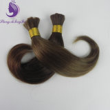 Brown Color #4 Virgin Remy Human Hair Bulk