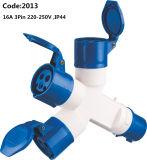 16A Multiple Industrial Socket Outlet