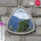 Elegant Design Durability Triangle Shape Wall Mirror