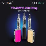 China Smoking Herbal Vaporizer Seego Vhit King & Tc-50W Electronic Cigarette Mod Kit