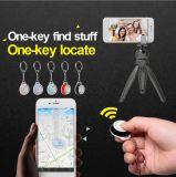 Smart Wireless Bluetooth 4.0 Anti-Lost Tracker Alarm Key Finder GPS Locator Selfie for Pets Children Wallets Bags Keys
