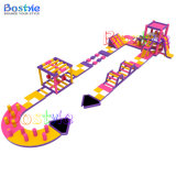 Hot Inflatable Floating Water Park with Ce