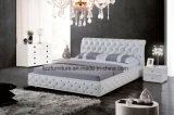 Modern Chesterfield Bedroom Leather Bed Set