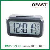 Digital LED Backlight Table Clock with Night Light Sensor Ot3316