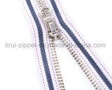 Metal Zipper with Fancy Puller