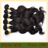 Natural Body Wave Remy Human Hair Virgin Brazilian Human Hair Extensions (ZYWEFT-27)