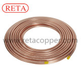 Refrigeration Pancake Copper Coil with 15.24m