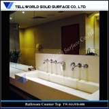 Popular Acrylic Solid Surface Wall Mount Artificial Stone Wash Basin