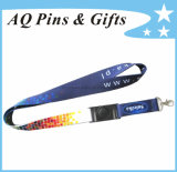 Heat Transfer Neck Lanyard with Printed