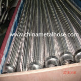 Corrugated Flexible Metal Pipe with Braid Layer/Tubo Metal