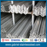 201 Hot Rolled Annealed Pickled Unequal Stainless Steel Angle