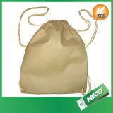 Customized Nonw Oven Polypropylene Drawstring Backpacks (MECO170)