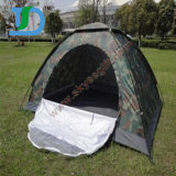 Outdoor Beach Double Rainproof Camo Army Camping Tent for Travel