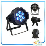 Mini Size PRO 10W PAR Light 7PCS Quad 4in1
