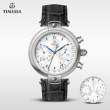 Top Quality Mens Watch Multifunction Chronograph Watch Leather Watch72372