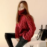 Hand Knit Sweater Cardigan Coat Jacket Apparel Pullover Clothes Knitwear