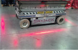 10-80V Side-Mounted Red Zone Forklift Approaching Warning Light