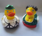 Vinyl Full Color Bride and Bridegroom Duck