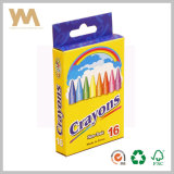 Customized Design 12 Color Crayon Packaging Box