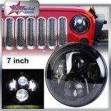 "Auto Car Lighting 45W 7"" Round LED Daytime Running Light DRL for Jeep Halo, Headlamp DOT SAE, Car LED Headlight for Jeep Wrangler"