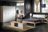 Good Quality American Simple Style Wooden Bedroom Sets (UL-LF003)