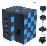 Hot Selling Multifunction Socket 4 USB Universal Home Charger Travel Charger
