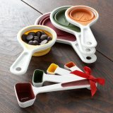 8-Piece Measuring Spoon and Drop Down Cup Set