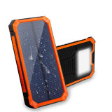 Portable Phone Charger Battery Solar Power Powerbank LED Light