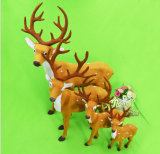 OEM Christmas Reindeer Decoration and Craft for Promotional Gift
