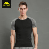2 Colors Mens Running Shirt Fitness Clothing