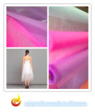 Organza Polyester Fabric, Textile for Wedding and Garment Fabric