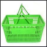 Hot Sale Shopping Use Ssupermarket Shopping Plastic Basket