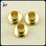Shoes Accessories Golden Metal Small Round Brass Eyelet for Shoes