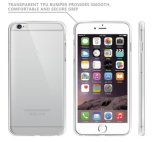 Clear PC Back TPU Bumper Mobile Phone Cover for iPhone 7/7s|iPhone6|iPhone 6plus
