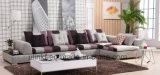 Modern Hotel Furniture Corner Living Room Sofa (UL-NSC126)