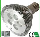 Ce/RoHS Listed High Lumen Output LED PAR 64 Light G55 E27 5W LED Bulb/Dimmable Mcob LED Bulb