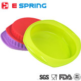 Large Gear Shape Pan Mold Round Shape Silicone Roasting Baking Pan Mould