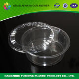 Disposable Small Clear Plastic Round Box with Lid