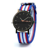 Custom Mens Watches Sport Nylon Strap with Japan Movt