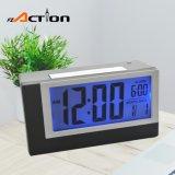 Lightweight LED Light Sensor Digital Calendar Alarm Clock