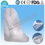 Disposable Nonwoven Boot Cover with Tie, SBPP Boot Cover