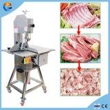 Commercial Automatic Restaurant Frozen Ribs Bone Steak Meat Slicer with Bone